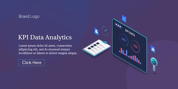 Banner analitico kpi