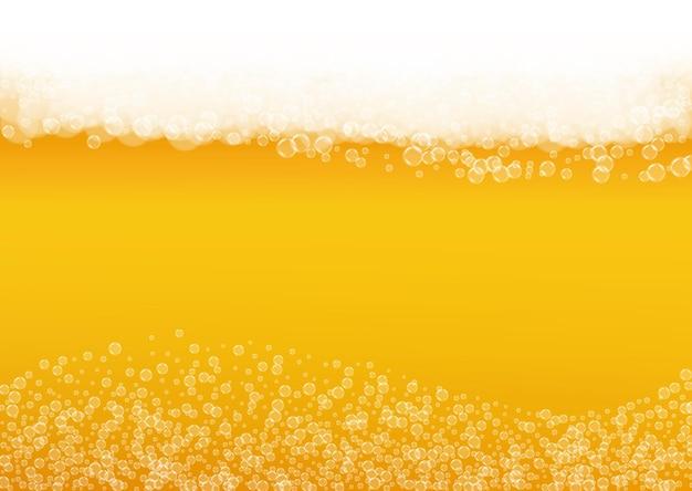 Birra chiara. sfondo con schizzi di artigianato.