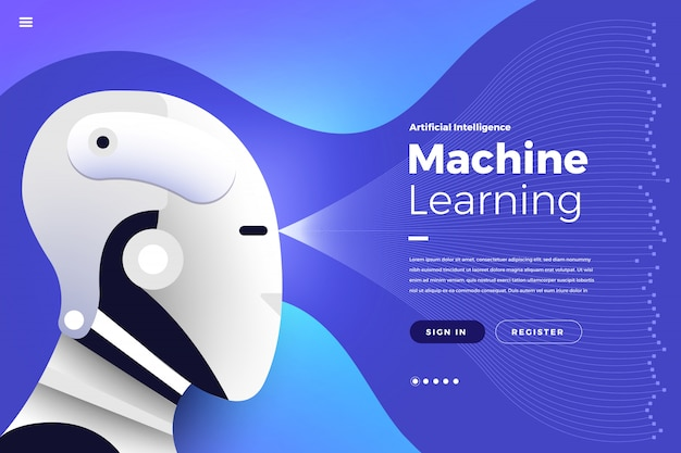 Pagina di destinazione intelligenza artificiale