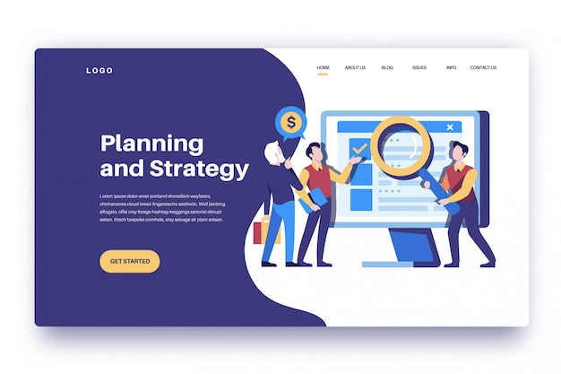 Pianificazione e strategia della pagina di destinazione
