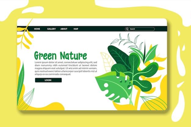 Modelli di progettazione di pagine di destinazione o pagine web per lo sviluppo di siti web per la cura del corpo di cosmetici