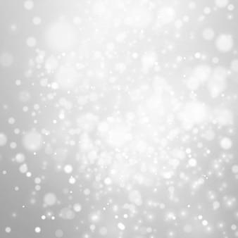 Paesaggio. effetto freddo. decorazione magica della neve di fantasia della natura. illustrazione vettoriale