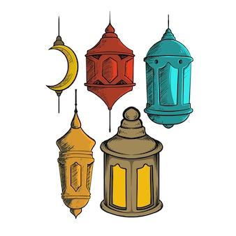 Set lanterna ramadan