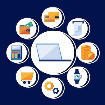 Laptop con soluzioni di pagamento