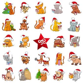 Grande raccolta di cartoni animati natalizi