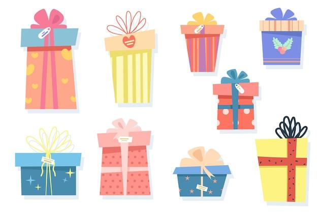 Grande set di scatole regalo