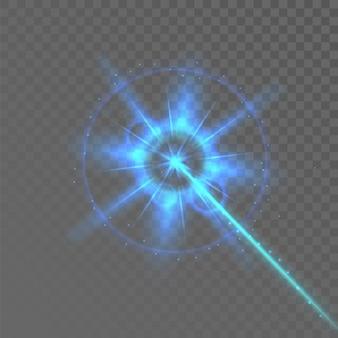 Sistema elettronico sicuro di sicurezza del raggio laser