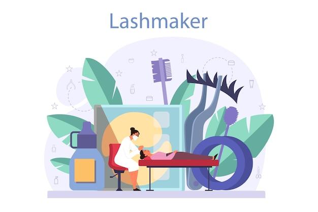 Concetto di lashmaker