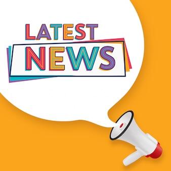Design delle ultime notizie