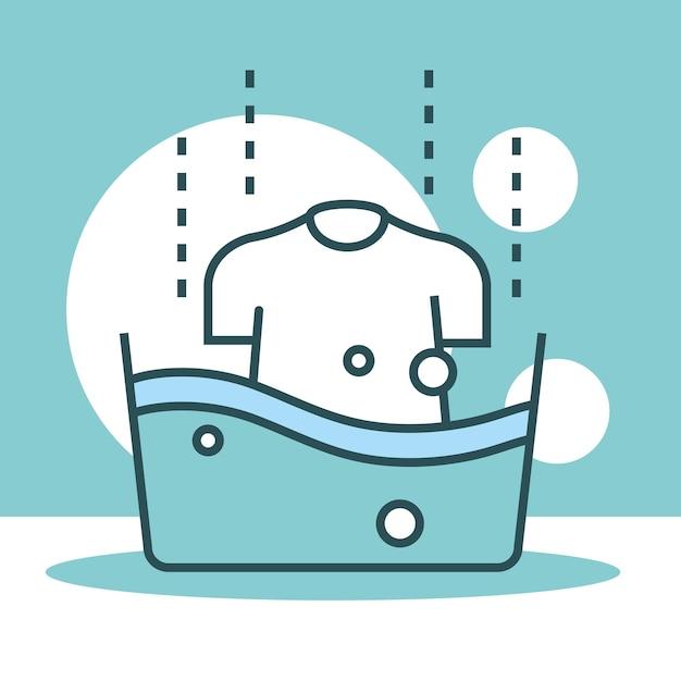 Lavandino con camicia