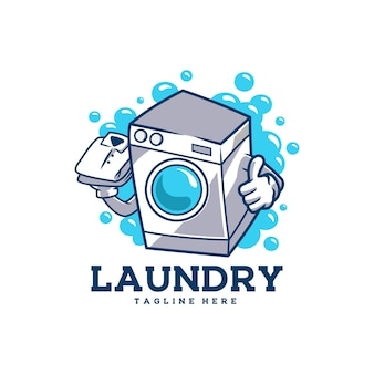 Lavanderia vestiti puliti pulizia domestica