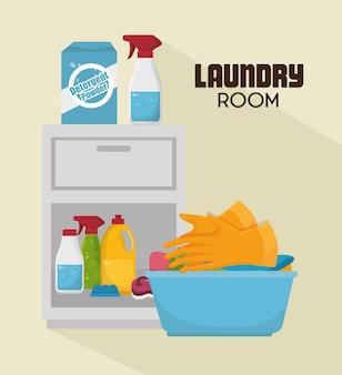 Servizio di lavanderia a servizio completo