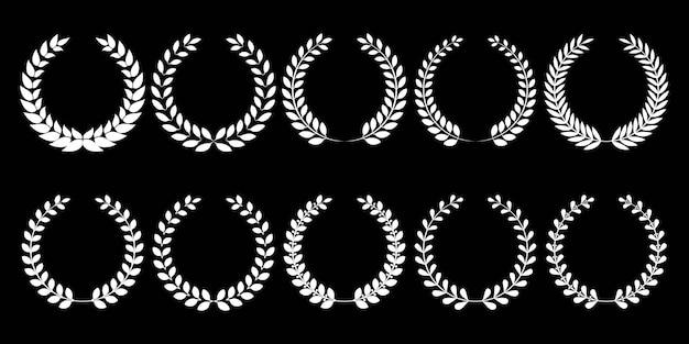 Set di corone di alloro