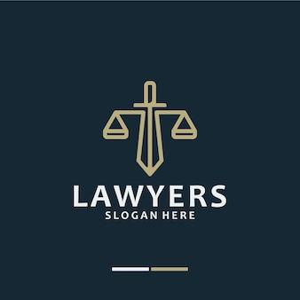 Studio legale, avvocato, ispirazione per il design del logo