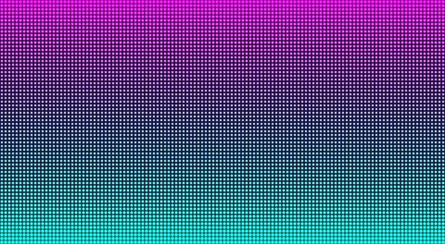 Trama dello schermo lcd. monitor digitale a led. illustrazione vettoriale.