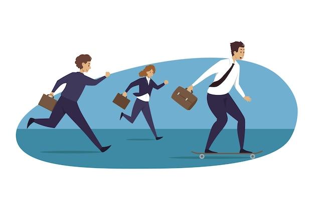 Illustrazione di leadership