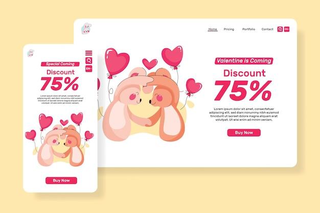 Pagina principale vendite per san valentino