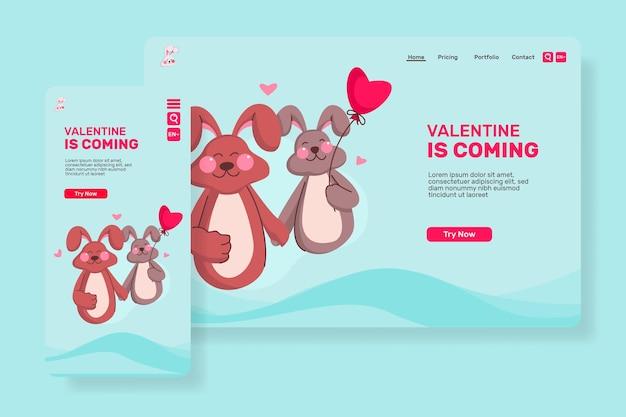 La pagina principale di san valentino viene per san valentino