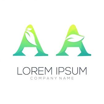 Un estratto di logo foglia