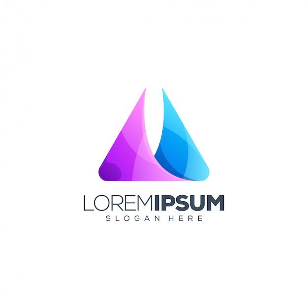 Logo design foglia