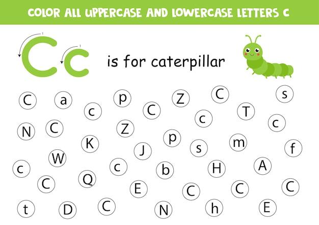 Imparare l'alfabeto inglese.