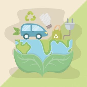 Lascia in mano il pianeta e risparmia energia