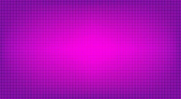 Display digitale a led. trama dello schermo lcd. illustrazione vettoriale.
