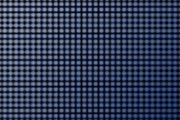 Schermo a led. dot rgb sfondo televisivo. illustrazione di riserva di vettore.
