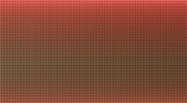 Schermo a led. monitor lcd. sfondo tv con texture pixel. display digitale. effetto elettronico