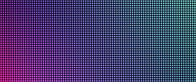 Schermo a led. trama televisiva. progettazione di pixel. monitor lcd. display digitale.
