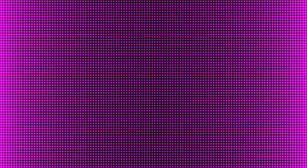Trama dello schermo a led. display digitale. pixel di colore di sfondo. monitor lcd. effetto diodo elettronico