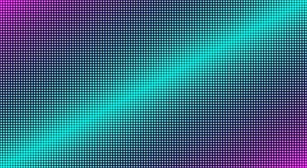 Trama dello schermo a led. sfondo digitale lcd. illustrazione vettoriale.
