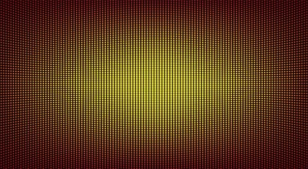 Trama dello schermo a led. display digitale lcd. illustrazione vettoriale.