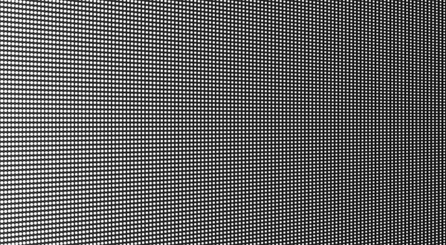 Trama dello schermo a led. monitor digitale lcd. illustrazione vettoriale.