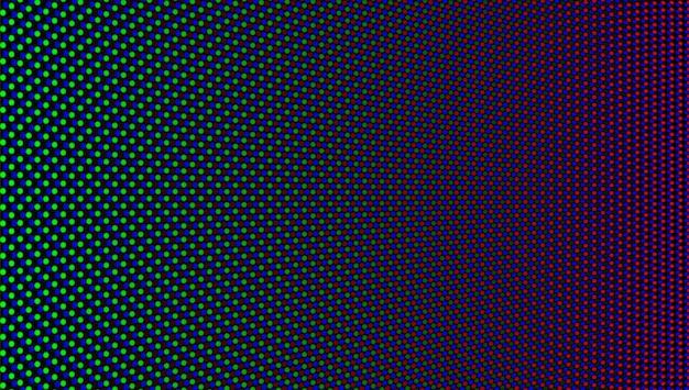 Trama dello schermo a led. display digitale a pixel. monitor lcd. modello di griglia del proiettore. videowall tv