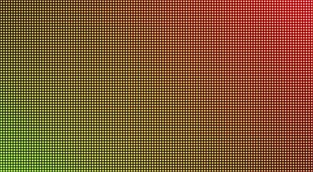 Trama led. schermo dell'affissione a cristalli liquidi della tv. illustrazione vettoriale.