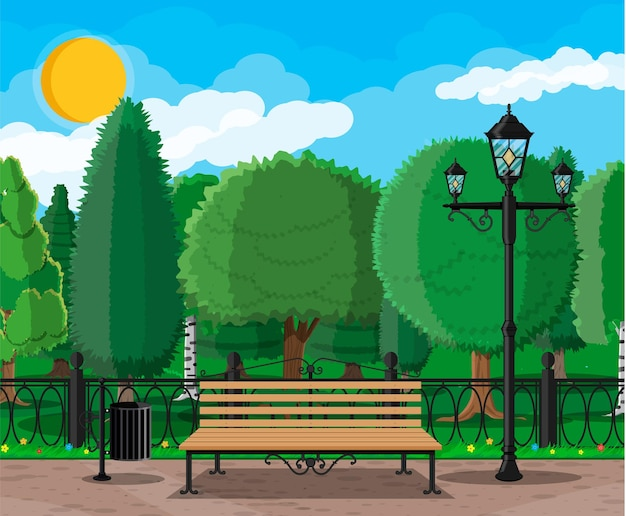 Tempo libero nel parco cittadino estivo