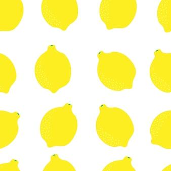 Motivo senza cuciture succoso di agrumi di limone motivo giallo dolce arancione trama di frutta brillante per la stampa