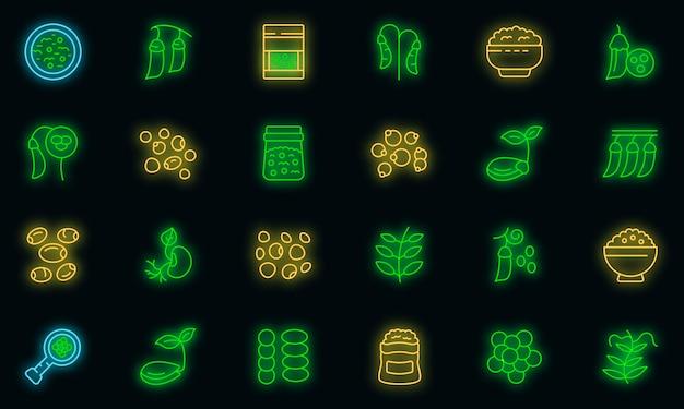 Icona di lenticchie, stile contorno