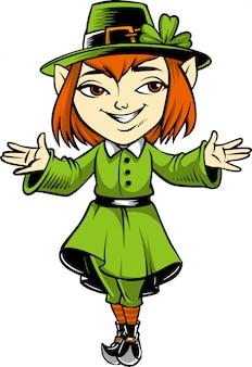 Leprechaun girl 01