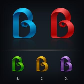 Marchio della lettera b.