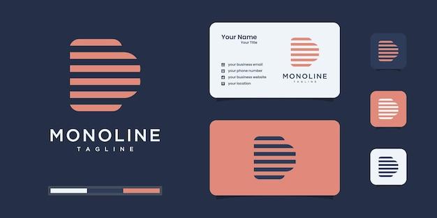 Lettera d design del logo moderno. d logo essere utilizzato per l'identità del marchio o ecc.