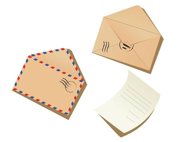 Lettera e buste
