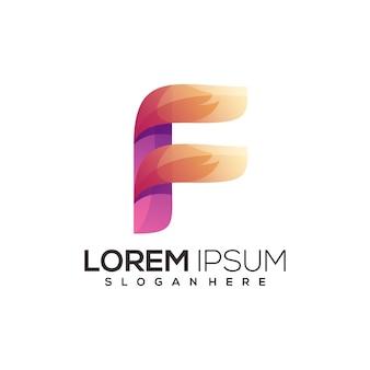 Lettera f logo