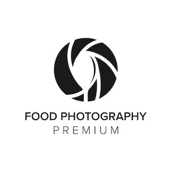 Lettera f fotografia logo icona modello vettoriale