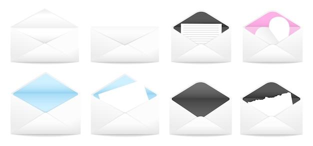 Lettera in buste illustrazione vettoriale