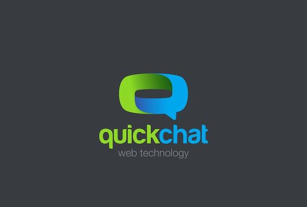 Icona del logo della lettera q.