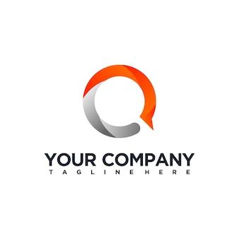 Lettera q logo