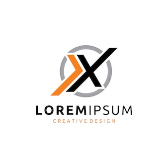 Logo x lettera