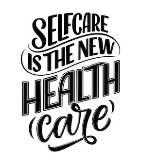 Scritte slogan sulla terapia